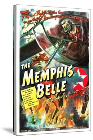 The Memphis Belle- US Air Force-Stretched Canvas Print