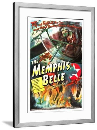 The Memphis Belle- US Air Force-Framed Art Print