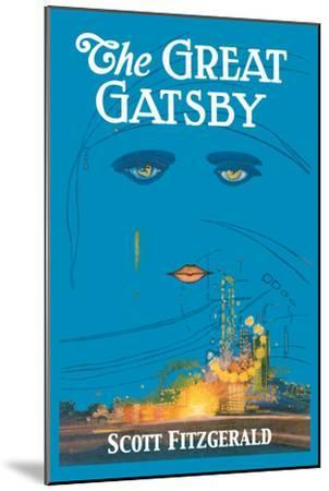 The Great Gatsby-Francis Cugat-Mounted Premium Giclee Print