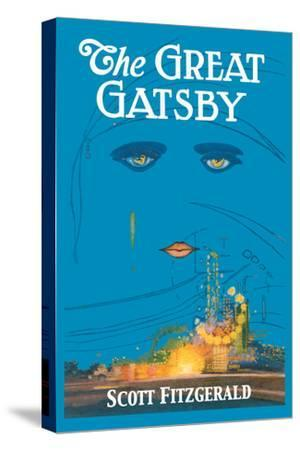 The Great Gatsby-Francis Cugat-Stretched Canvas Print