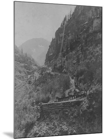 Silverton, Colorado Mining Photograph 1890s-1900s--Mounted Art Print