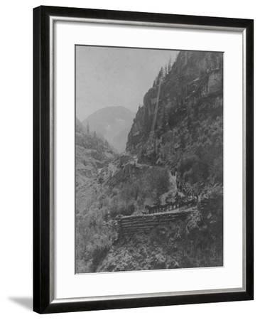 Silverton, Colorado Mining Photograph 1890s-1900s--Framed Art Print