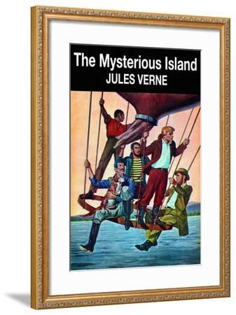 The Mysterious Island--Framed Art Print