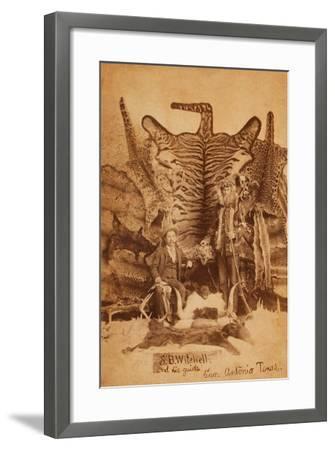 Texas Ranger Robert Hall-D. P. Barr-Framed Art Print