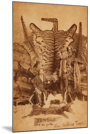 Texas Ranger Robert Hall-D. P. Barr-Mounted Art Print