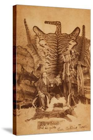 Texas Ranger Robert Hall-D. P. Barr-Stretched Canvas Print