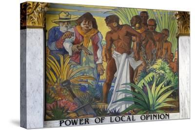 Power Of Local Opinion-Carol Highsmith-Stretched Canvas Print