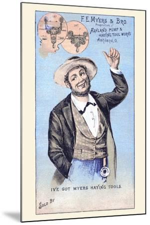 F. E. Myers & Bro.--Mounted Art Print