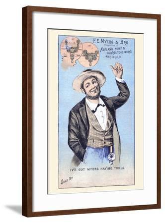 F. E. Myers & Bro.--Framed Art Print