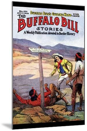 Buffalo Bill Stories- Street & Smith-Mounted Art Print