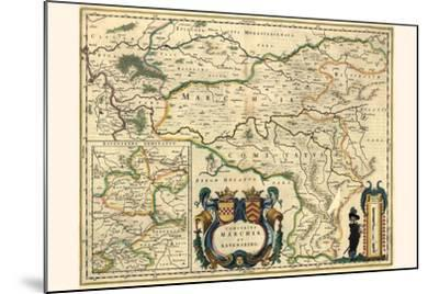 County Of Mark And Ravensburg-Willem Janszoon Blaeu-Mounted Art Print