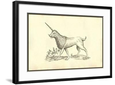 Unicorn (Camphurch Effigies)-Ulisse Aldrovandi-Framed Art Print