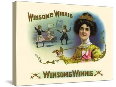 Winsome Winnie- Haywood, Strasser & Voigt Litho-Stretched Canvas Print