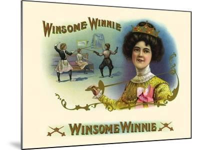 Winsome Winnie- Haywood, Strasser & Voigt Litho-Mounted Art Print
