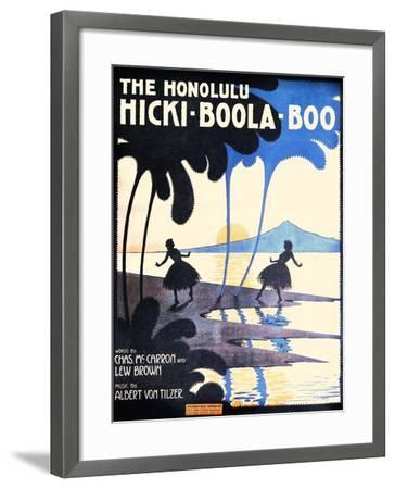 The Honolulu Hicki-Boola-Boo-Andre C. De Takacs-Framed Art Print