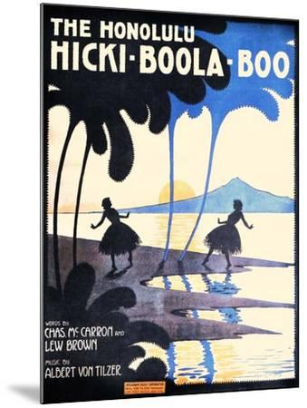 The Honolulu Hicki-Boola-Boo-Andre C. De Takacs-Mounted Art Print