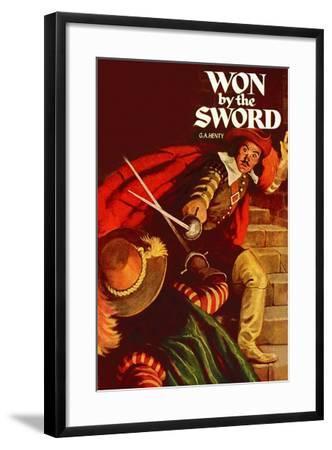 Won By The Sword--Framed Art Print