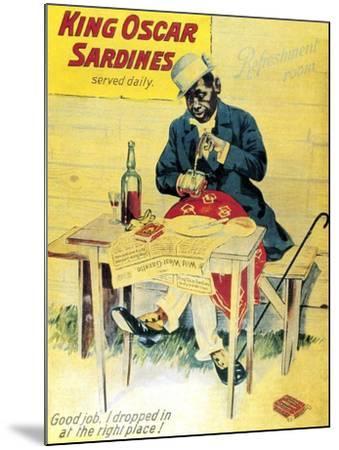 King Oscar Sardines--Mounted Art Print