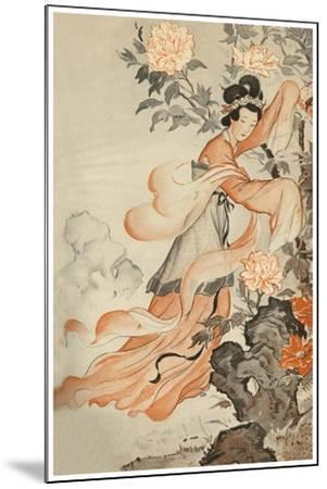 Garden Spirit--Mounted Art Print