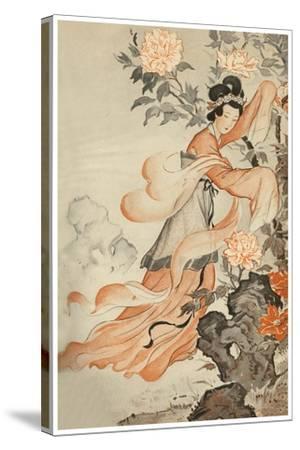 Garden Spirit--Stretched Canvas Print