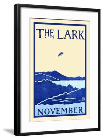 The Lark November-Florence Lundborg,-Framed Art Print