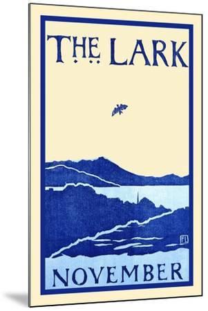 The Lark November-Florence Lundborg,-Mounted Art Print