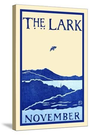 The Lark November-Florence Lundborg,-Stretched Canvas Print