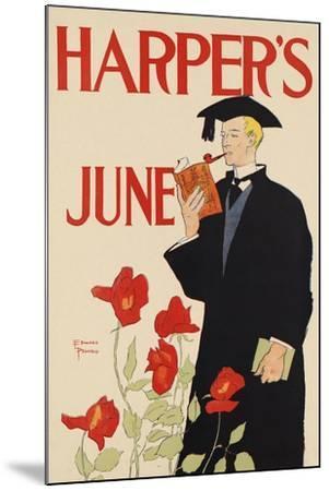 Harper's June-Edward Penfield-Mounted Art Print