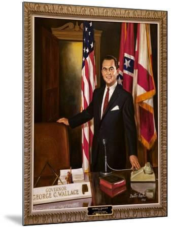 Portrait Of Governor George Wallace-Carol Highsmith-Mounted Art Print