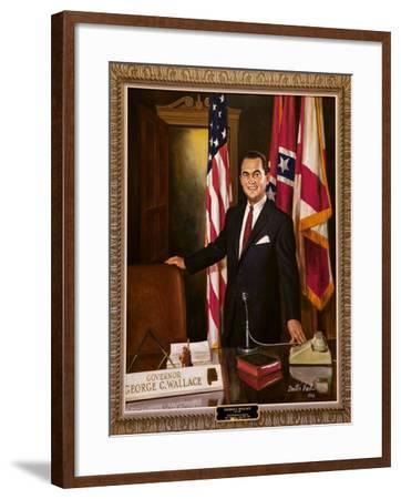 Portrait Of Governor George Wallace-Carol Highsmith-Framed Art Print