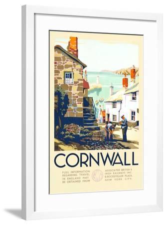 Cornwall-John+F60 Francis Bee-Framed Art Print
