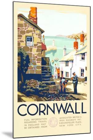 Cornwall-John+F60 Francis Bee-Mounted Art Print