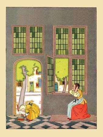 Beat Your Little Drum- Maud & Miska Petersham-Framed Art Print