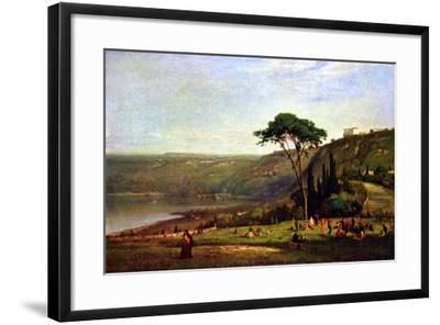 Albanersee-George Innes-Framed Art Print