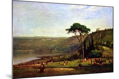 Albanersee-George Innes-Mounted Art Print