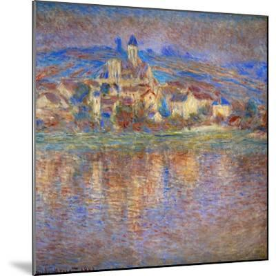 Sunset in Vetheuil, 1900-Claude Monet-Mounted Giclee Print