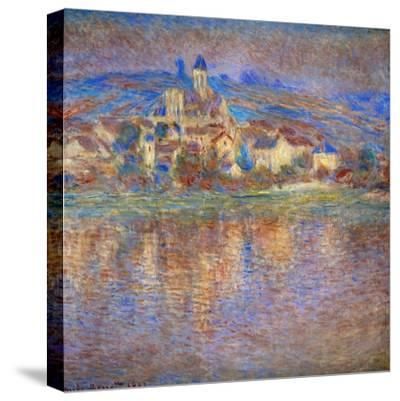 Sunset in Vetheuil, 1900-Claude Monet-Stretched Canvas Print