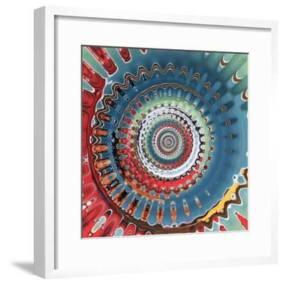 Variations On A Circle 10-Philippe Sainte-Laudy-Framed Photographic Print