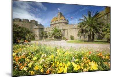 Saint Malo Castle In Bretagne-Philippe Manguin-Mounted Photographic Print