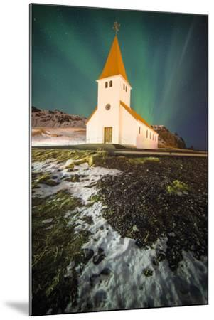 Vik Church-Philippe Manguin-Mounted Photographic Print