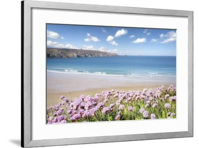 The Trepassed Bay And Beach In Brittany-Philippe Manguin-Framed Photographic Print
