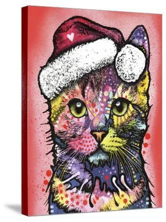 Christmas Cat-Dean Russo-Stretched Canvas Print