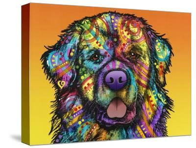 Newfie-Dean Russo-Stretched Canvas Print