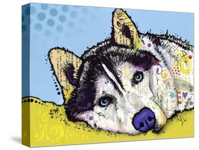 Siberian Husky-Dean Russo-Stretched Canvas Print