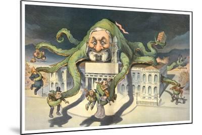 Long Arms Of Politicians-JS Pughe-Mounted Art Print