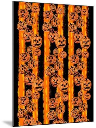 Pumpkin Patch Pals II-Nicholas Biscardi-Mounted Art Print