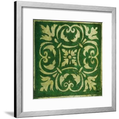 Emerald Mosaic-Patricia Pinto-Framed Art Print