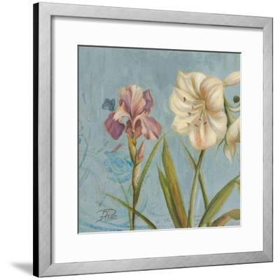 The Garden in Blue I-Patricia Pinto-Framed Art Print