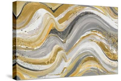 New Concept Mustard Gray-Patricia Pinto-Stretched Canvas Print