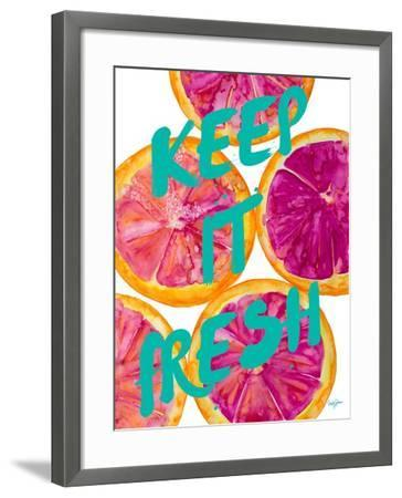 Fresh & Sweet I-Nola James-Framed Art Print